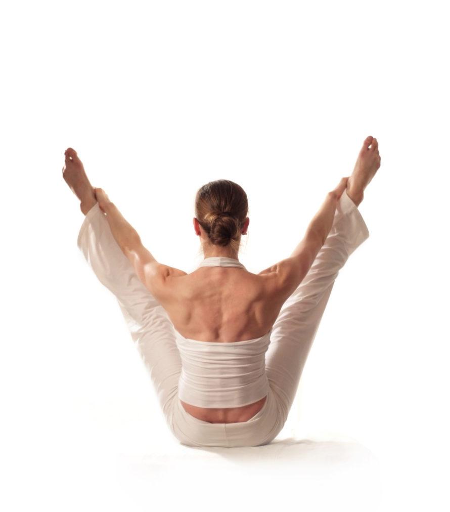 Pilates und Yoga Exercise